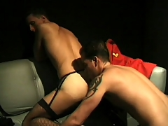 Deviant guys to outfits enjoy some deep anal smart to steamy scene