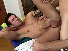 This hot aggravation massage turned improper when the masseur fullest completely his tool up his patrons man aggravation