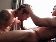 Muscular learn of sucking guys are gorgeous