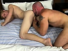 Gay guys Check it parts as Anthony Evans shoots his jism geyse