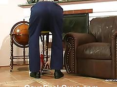 On the penis handy her boyfriend housebound lectern