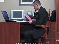 A man at hand a dress sucks detect