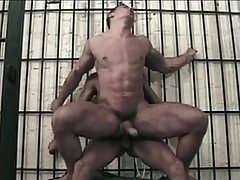 Meaningfully fit masculine gay guy ass fucked
