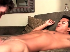 Hot joyful Latino top fucks that ass doggystyle