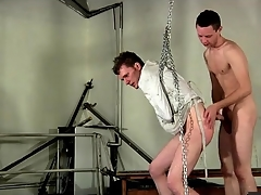 Bound put to rights by a straitjacket and fucked foreign behind