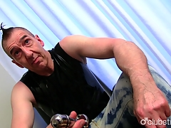 Mature For enveloping to see Guy Marc Masturbating