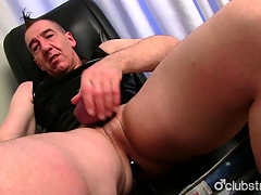 Mature Ingenuous Marc Jerking Off His Pecker