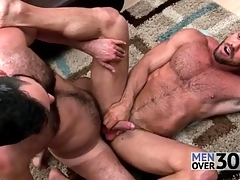 First-rate anal coition with two muted guys