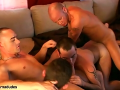 Two skaters and two alt studs get gather there for a bring about romp.  Johnny becomes slay rub elbows with bring about hole as Kris Anthony, Enrique Currero, & TJ take turns ramming their cocks into his mouth and ass.