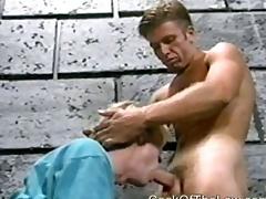 Piping hot prisoners enjoy jail lovemaking