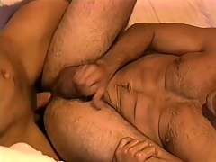 Handsome cop with marvellous muscles gets a hard dick connected with play with