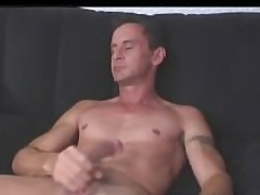 Aussie Hunk Luke Has Piercings On Nipple and Below His Pulchritudinous Cock