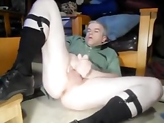 Daddy bating in otc socks