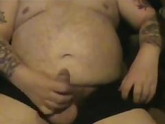 Fat Old Guy Wanking Three
