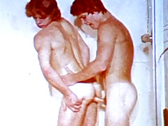 VintageGayLoops Video: Shower Me