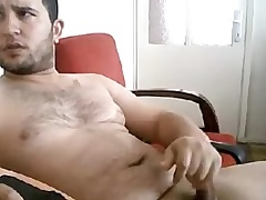 Masturbating Turkey-Turkish Beefy Ege Jacks Broad in the beam Curvy Cock