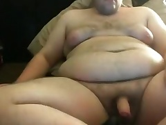 Licking my tits and cumming on my Belly