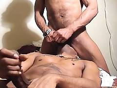Black gays get cleaned up for some cock in mouth and bore mandate