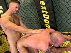 He shares his passion with his beau and cums impenetrable depths inside his ass