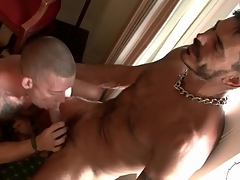 Hot tattooed guys suck dick hither hotel room