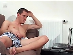 Guys have webcam masturbation sex with each other