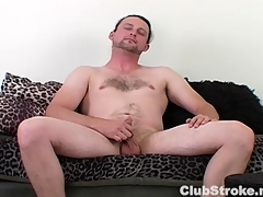Horny Openly Guy Sean Masturbating