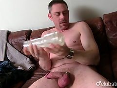 Despondent Straight Daddy A-one Masturbating