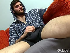 Astounding Straight Jaxon Masturbating