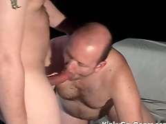 Big bear gets his botheration fucked hard