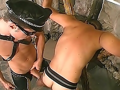 Gay Design Hunk Banging His Slave&039