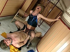 Sex-addicted milquetoast defy getting his desirous fuckhole filled with beefy meat