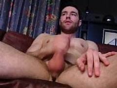 Handsome In the open Guy Tommy Masturbating