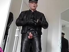 Leather Biker ejac