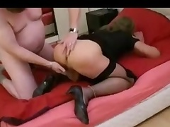 Sluty CD getting fucked wide of a fat man