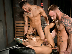 Derek Parker & FX Rijos & Draven Torres in Under My Skin 2, Scene 01 - Shielded