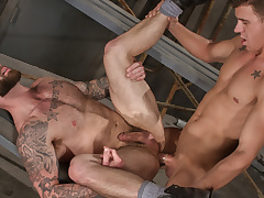 Chris Bines & JJ Knight in Cruising Grounds, Scene 01 - Shielded