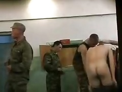 Pure Russian army cadets \'??????\' showers
