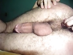 Taut pucker fingered and toyed