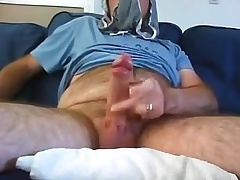 Another panty sniffing wank