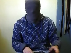 Jerk-off with regard to hood, jacket, and gloves 6