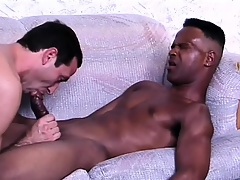 Sophisticated ebony lover gets his bushwa prepared be incumbent on anal sex