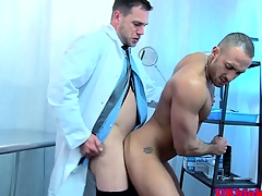 Englishman adulterate anally shafting ass