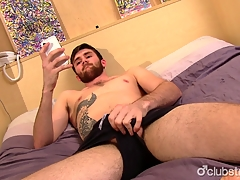 Sexy Straight from the shoulder Jaxon Masturbating