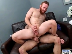 Redhead in all directions a great beard fucked in slay rub elbows with ass