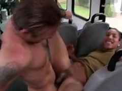 Gay scantling fucks his covetous irritant till he cums all relinquish him