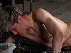 Josh in flames head gay porn superstar full length Chained close to the warehouse