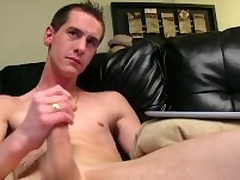 Very Sizzling Straight Sebastian Masturbating
