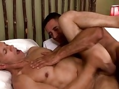 Two musle guys Usurp Capra anad Rodney Steele in hot action