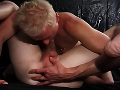 Sexy gays are squally coupled with doing sixty-nine before drilling ass