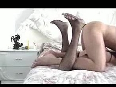 Blithe crossdresser fucked hard from behind